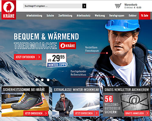 Lernen von den Profis – Arbeitsschutzkleidung für Heimwerker – Foto: kraehe.de