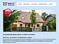 Moderne Präsentation von Massivbauunternehmen beginnt bei der Website