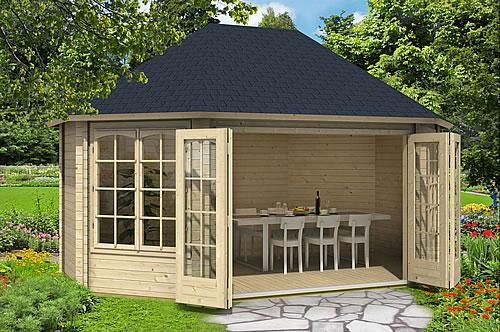 Holzgartenhäuser – selbst bauen oder fertig kaufen? Foto: gartenhaus-gmbh.de
