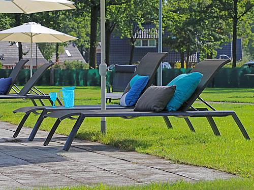 Gartenliegen - komfortabel die Freizeit genießen