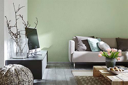 Mineralputze verleihen dem Zuhause einen neuen Charakter und lassen sich dabei unkompliziert verarbeiten. Foto: djd / Knauf Bauprodukte