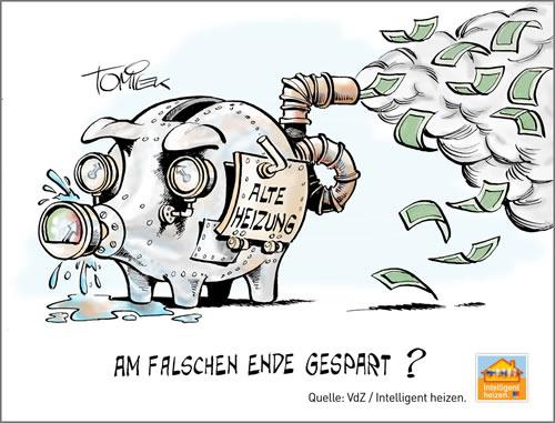 Wer am falschen Ende spart, zahlt meistens drauf: Richtig sparen mit dem Heizungs-Check. - Foto: djd/VdZ e.V.