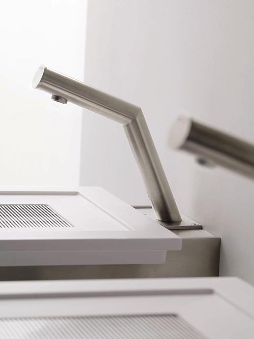 Die El Touch Armaturen von Balance wurden speziell für das Code X-System entworfen. Sie sind handgefertigt und aus beständigem Edelstahl.  - Foto: epr/Balance