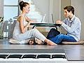 Fußbodenheizung für die Altbausanierung