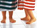 Nie mehr kalte Füße im Badezimmer