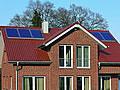 Die Sonne liefert Energie frei Haus